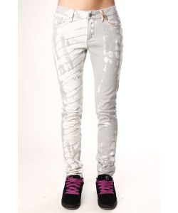 Insight | Джинсы Узкие Женские Beanpole Skinny Strech Art Bleach Grey