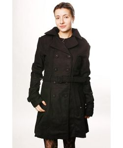 Insight | Куртка Женская Creeper Trench Wool Black
