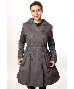 Insight | Куртка Женская Creeper Trench Grey Spray