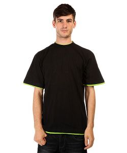 Urban Classics | Футболка Contrast Tall Black Lime Green