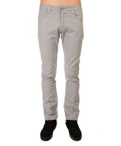 Urban Classics | Штаны Прямые 5 Pocket Pants Light Grey