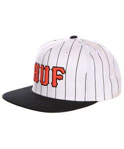 Huf | Бейсболка Classic Pinstripe Starter White/Black