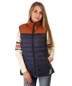 Clwr | Жилетка Женская Feather Vest Patriot Dot
