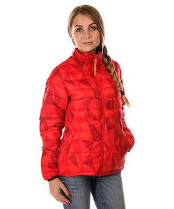 Clwr | Пуховик Женский Colour Wear Feather Jacket Red Ceramic