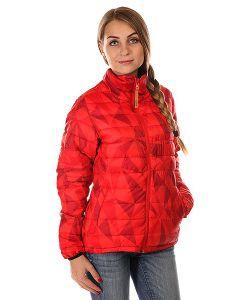 Clwr | Пуховик Женский Colour Wear Feather Jacket Red Ceramic