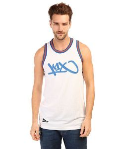K1X | Майка Tag Mesh Jersey White/Blue