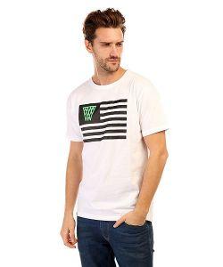 K1X | Футболка Noh Flag Tee White/Black