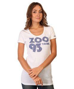 Zoo York | Футболка Женская Zoo 93 Scribble White