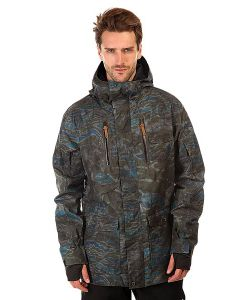 Quiksilver | Куртка Dark Stormy Space Reflector Army