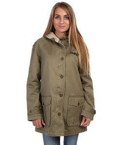 Insight | Куртка Парка Женская Hot Fuzz Jacket Acid Green