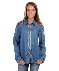 Insight   Рубашка Женская Napier Shirt 70 S Mid Blue