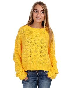 Insight | Свитер Женский Cut Out Jumper Saffron