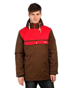 Truespin | Анорак Cloud Jacket Coffee/Red