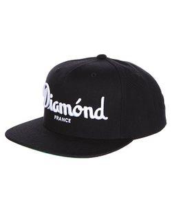Diamond | Бейсболка С Прямым Козырьком Champagne Snapback Black