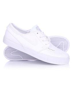 Nike | Кеды Кроссовки Низкие Zoom Stefan Janoski L White/White Wolf Grey