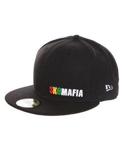 Sk8Mafia   Бейсболка С Прямым Козырьком Og Rasta New Era Black