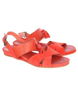Loreak Mendian | Сандалии Женские Borla Shoes Leather Coral Red
