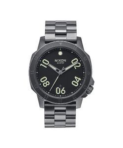 Nixon | Часы Ranger All Gunmetal/Lum