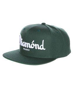 Diamond | Бейсболка С Прямым Козырьком Champagne Snapback Green