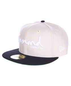 Diamond | Бейсболка С Прямым Козырьком Og Script Fitted Hat Tan