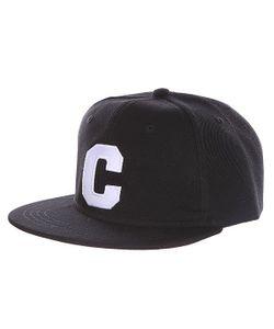 Truespin | Бейсболка С Прямым Козырьком Abc Black C