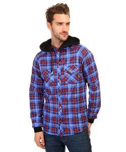 Shweyka   Рубашка В Клетку Fleece Shirt Blue/Red