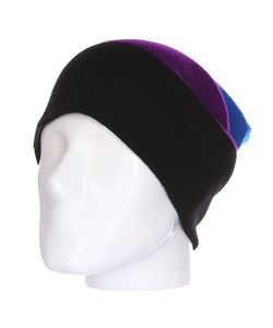 Shweyka | Шапка Носок Trio Beanie Blue/Violet/Black