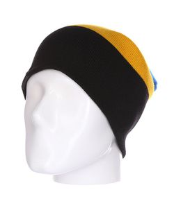 Shweyka | Шапка Носок Trio Beanie Blue/Yellow/Dark Grey