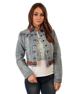 Insight | Куртка Джинсовая Женская Bleach Blue Classic