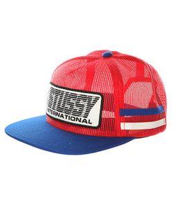 Stussy | Бейсболка С Сеткой Bmx Trucker Cap Red