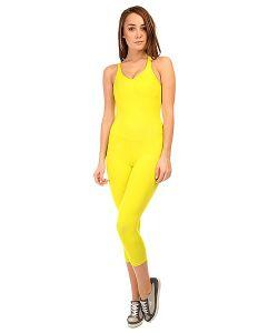CajuBrasil | Комбинезон Для Фитнеса Женский New Zealand Overall Yellow