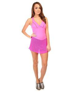 CajuBrasil | Комбинезон Для Фитнеса Женский Trend Suit Jump Pink