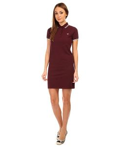Fred Perry | Платье Женское Twin Tipped Dress Black