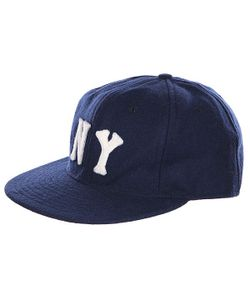EBBETS FIELD FLANNELS | Бейсболка Ebbets Field New York Black Yankees Fitted Cap Navy