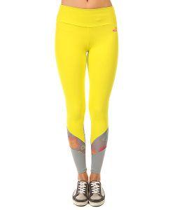 CajuBrasil   Леггинсы Женские New Zealand Legging Yellow/Grey