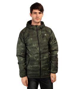 Billabong | Куртка Escape Puffer Smoke Military