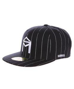 Sk8Mafia | Бейсболка С Прямым Козырьком Og Logo New Era Black/White