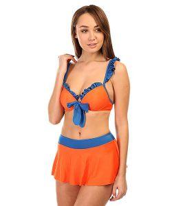 Look | Купальник Женский Haixiang Orange/Blue