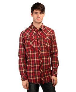Zoo York   Рубашка В Клетку High Street Crimson