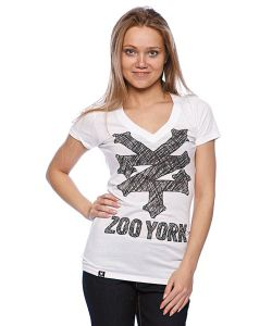 Zoo York | Футболка Женская Sketchpad Tee White