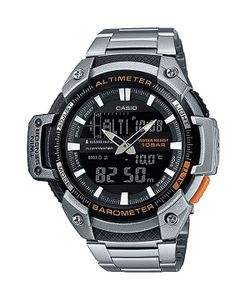 Casio   Часы Collection Sgw-450hd-1b Silver/Black
