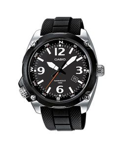 Casio | Часы Collection Mtf-E001-1a Black/Silver