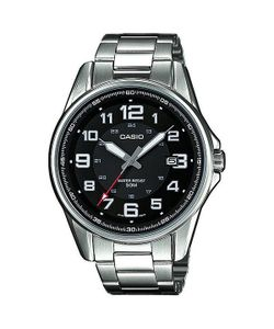 Casio | Часы Collection Mtp-1372d-1b Silver/Black