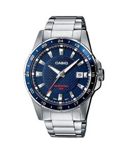 Casio | Часы Collection Mtp-1290d-2a Silver/Blue