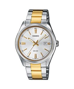 Casio | Часы Collection Mtp-1302psg-7a Silver/Gold