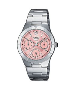 Casio | Часы Collection Ltp-2069d-4a Silver/Pink