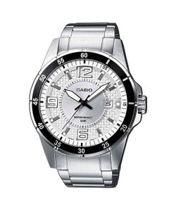 Casio | Часы Collection Mtp-1291d-7a Silver/Black
