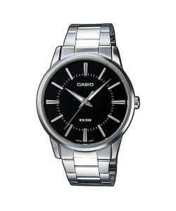 Casio | Часы Collection Mtp-1303pd-1a Silver/Black