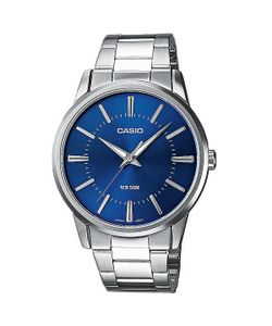Casio | Часы Collection Mtp-1303pd-2a Silver/Blue