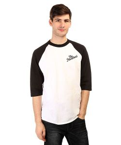 The Hundreds | Лонгслив Slant Raglan Black/White